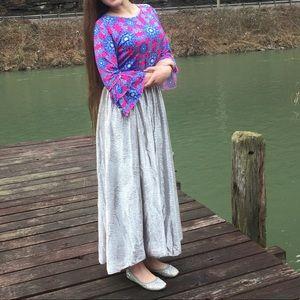 Women's Lularoe Maxi skirt